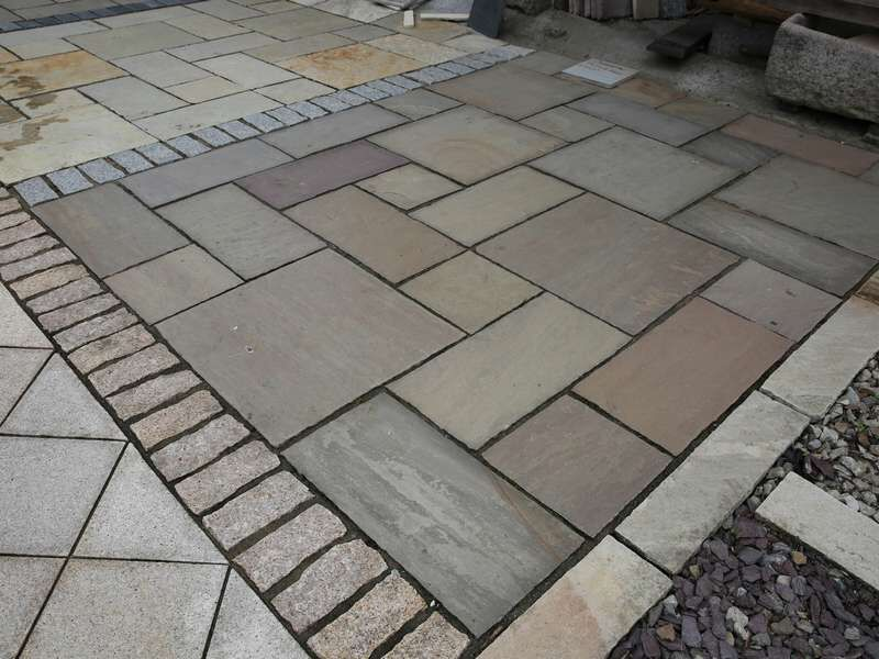 Autumn Brown Paving