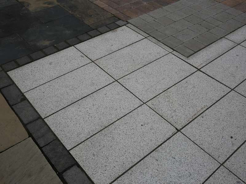G603 Silver Granite Paving Slabs