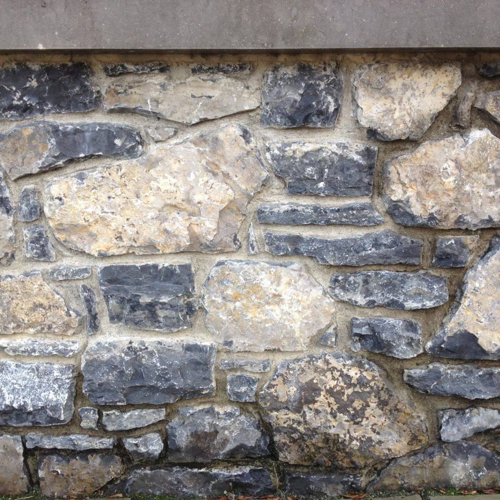 Antique Black Limestone Building Stone