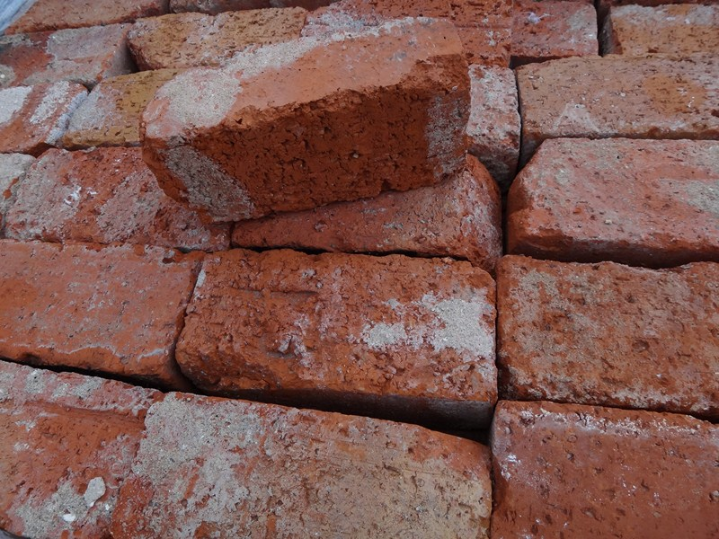 Reclamed red brick
