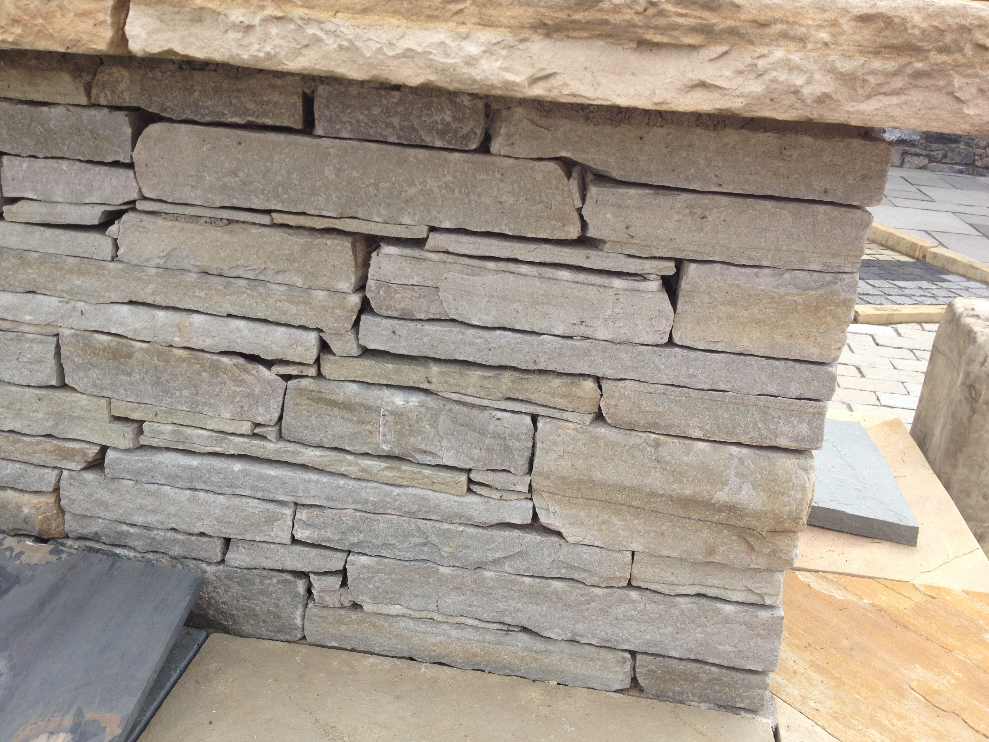 Silver Donegal Quartz Building Stone