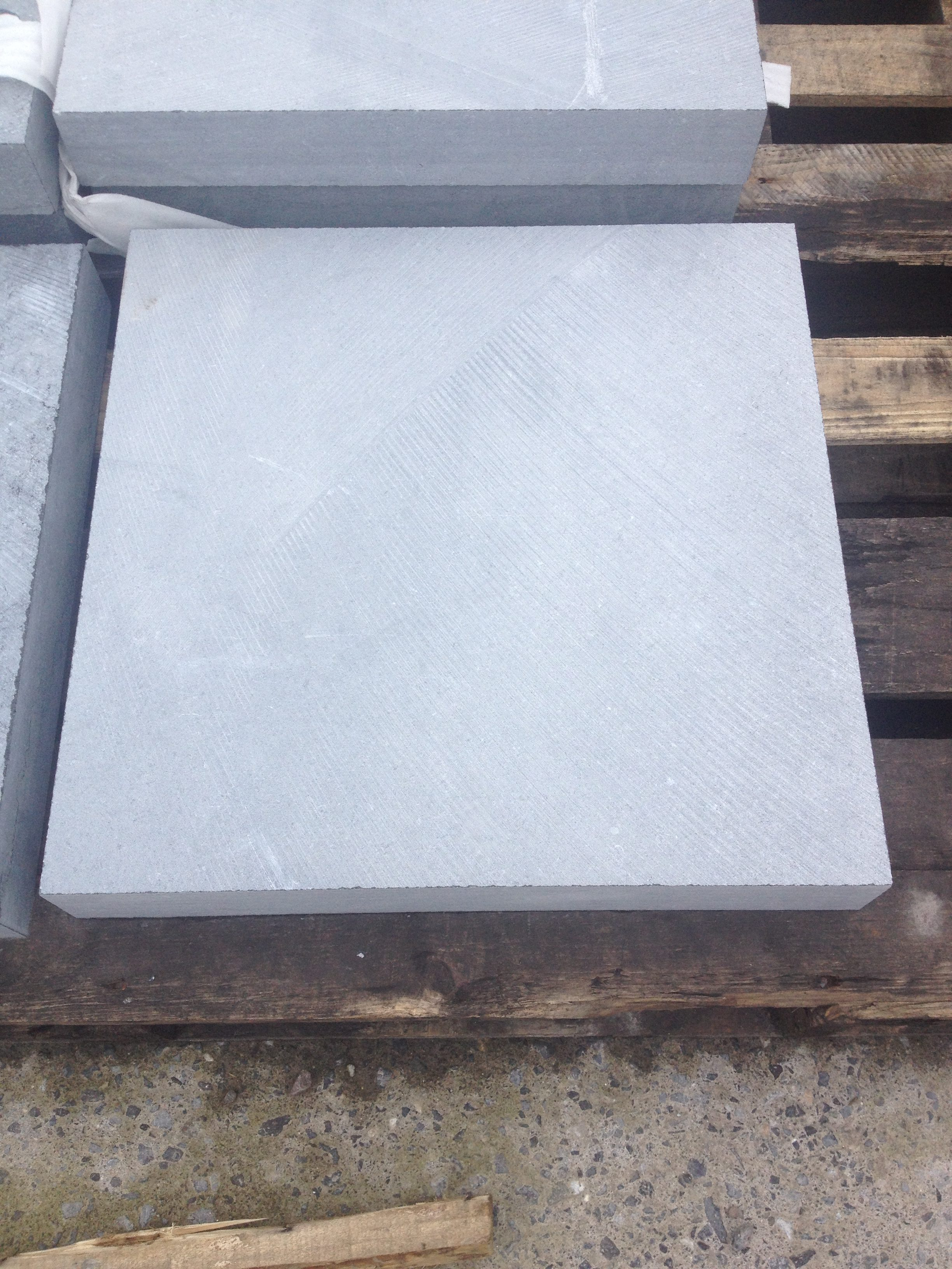 Kilkenny Irish Blue Limestone Pier Caps