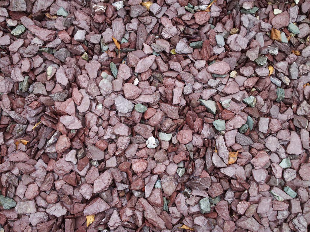 Clare Plum Limestone Slate Chippings