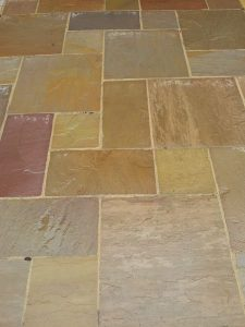 how to make paving slabs look wet