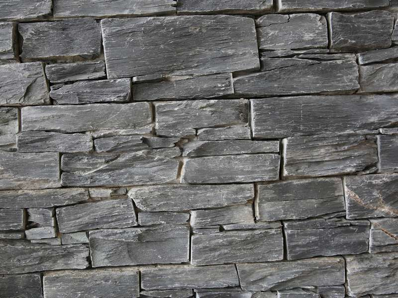 Grey Black Limestone Wall Cladding