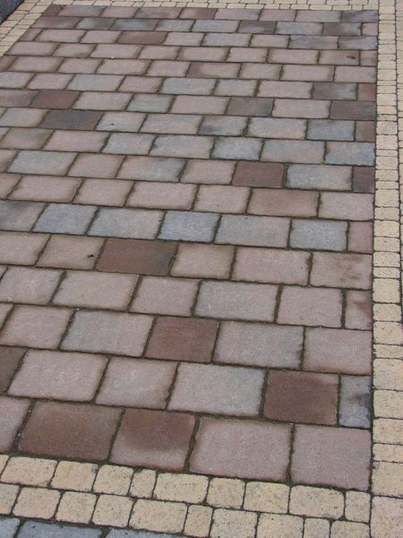 Chestnut Kingspave cobble paving